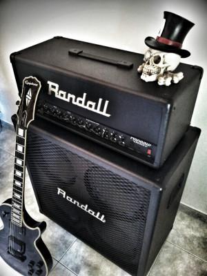 Cabezal Randall RG1503 150w + Pantalla Randall 4x12 200w