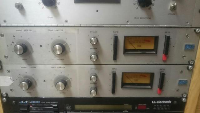 2 Compresores Urei 1176 LN