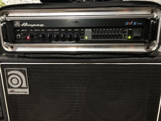 o cambio Ampeg SVT 3 Pro + SVT 610 HFL  (ambos USA)