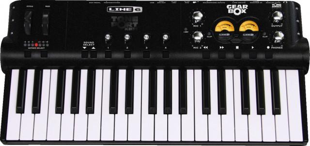 Tarjeta de Audio y Controlador Pod Studio KB37