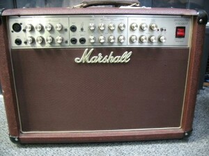 Amplificador acústica marshall AS80R