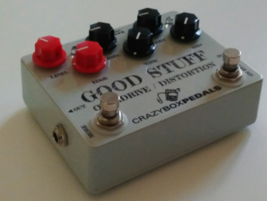Overdrive Distorsion Good Stuff Crazyboxpedals
