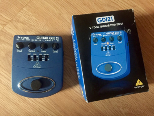 V-Tone Guitar GDI 21 (modelador, previo recording)