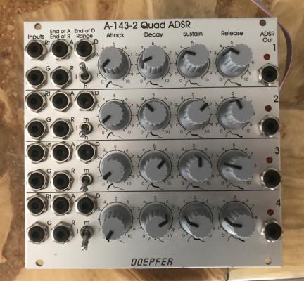 Doepfer A-143-2 Quad ADSR