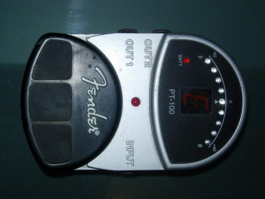 Afinador Fender PT-100 (no cambios, no regateos, envío no incluido)
