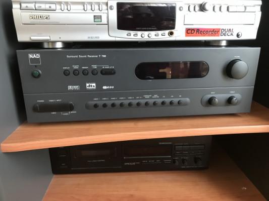 Amplificador Hi-Fi surround NAD