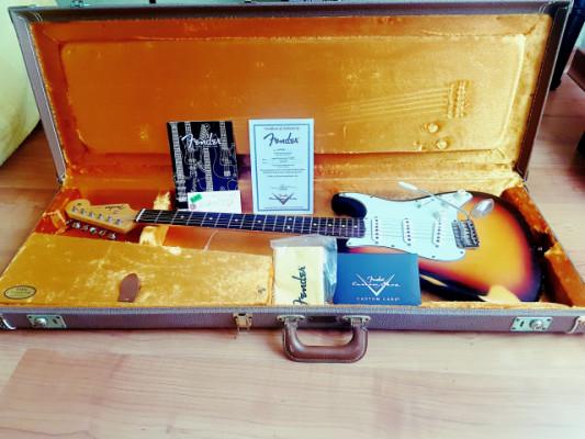 Fender stratocaster 1960 custom shop