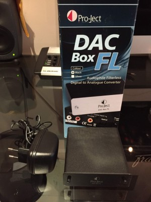 PRO-JECT AUDIO DAC BOX FL
