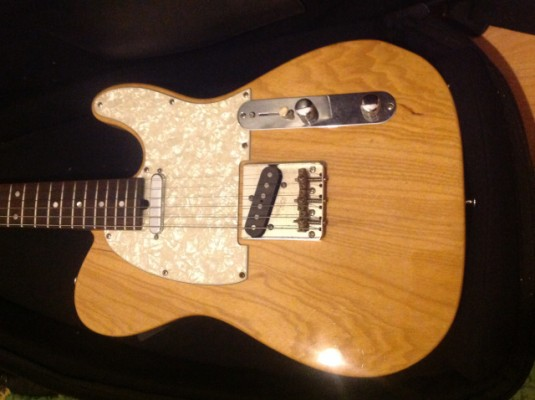AFJ CUSTOM GUITARS TELECASTER