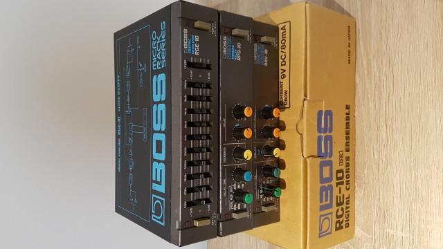Boss rge 10 , rce 10 , rpd 10 , rrv 10 micro rack series