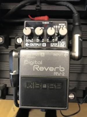 Pedal boss reverb RV-2