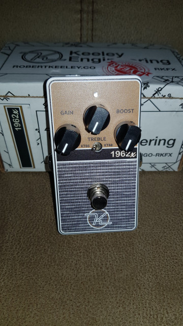 Pedal Keeley 1962X 2-Mode Overdrive
