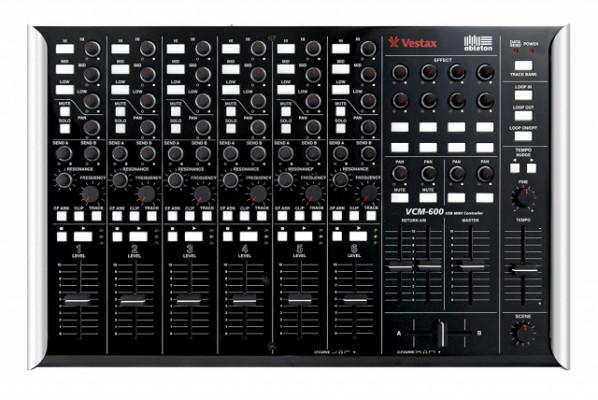 Vestax Vcm 600 Negra para Ableton (o cambio)