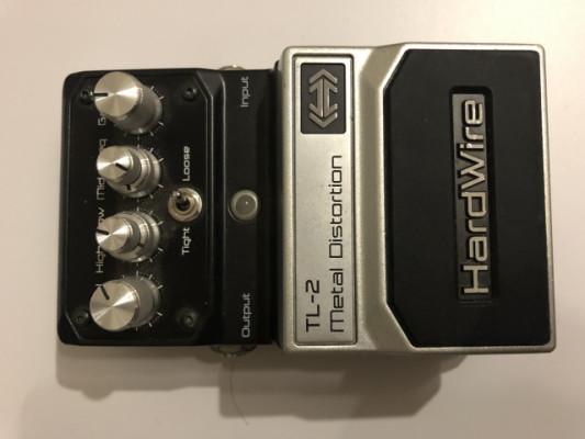- Digitech hardwire metal distortion TL 2- 55 €