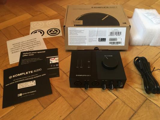 Interfaz Komplete Audio 2 (Nuevo, en Garantía)