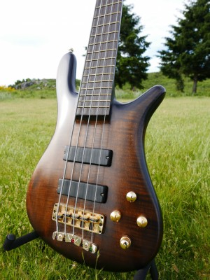 Warwick /Streamer Stage1 5st CUSTOM SHOP NT tobacco - Electric Guitar Bass 2004