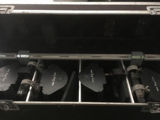 Se venden 4 scanner stage line con flight case