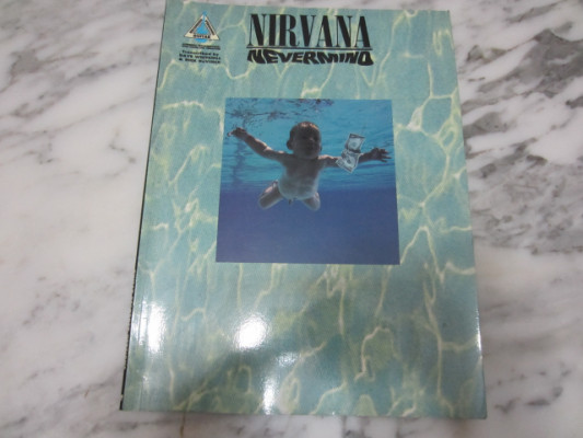 Libro canciones/partituras NIRVANA(Nevermind)