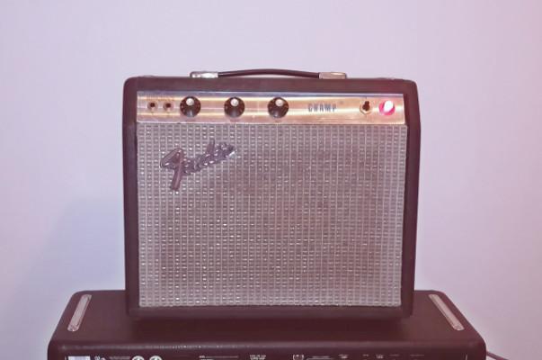 Fender Champ 1973 + 2x12 pantalla (LOTE)