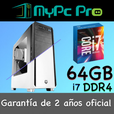 Mac OS Hackintosh Pro i7 64 GB RAM DDR4 1 TB SSD CustoMac /Windows