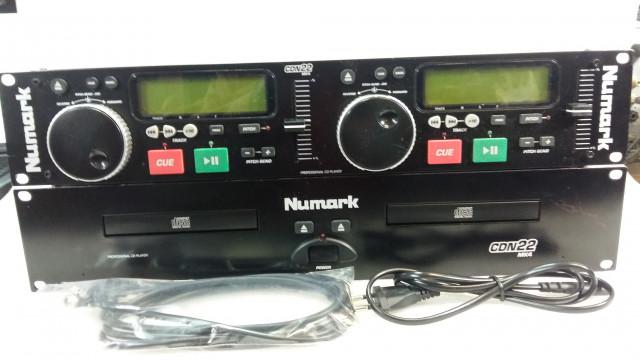 Reproductor doble CD NUMARK CD CDN22 MK4