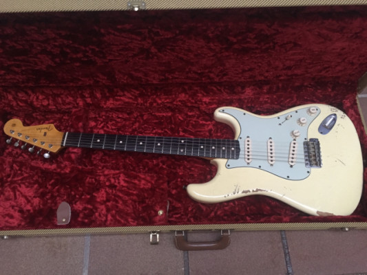 2009 Fender Stratocaster C. Shop Limited Edition Brazilian Rosewood