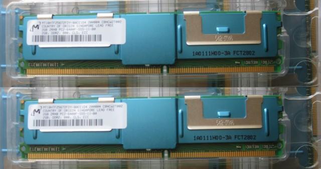 4GB DDR2 PC2 6400F MAC PRO  3.1