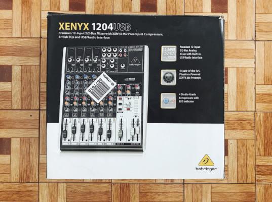 Mesa Behringer Xenyx 1204 USB.
