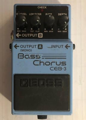BOSS Bas Chorus CEB3 stéreo
