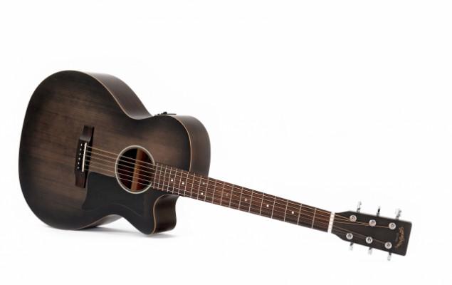 Compro guitarra sigma GMC STE BKB