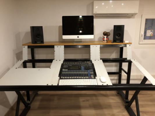 Mesa mueble de estudio para Racks.