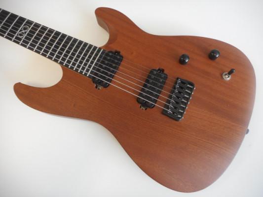 Chapman ML7-S guitarrón 7 cuerdas Seymour Duncan SH-4 y SH-2 y escala 26'5