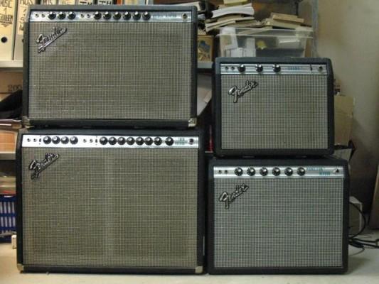 Válvulas NOS para Fender amps con 6L6 (vibrol, twin rev. bass m)