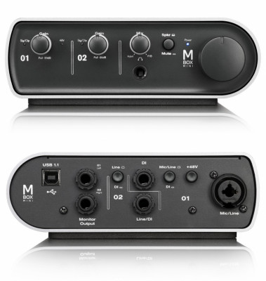 Tarjeta de sonido AVID MBox3