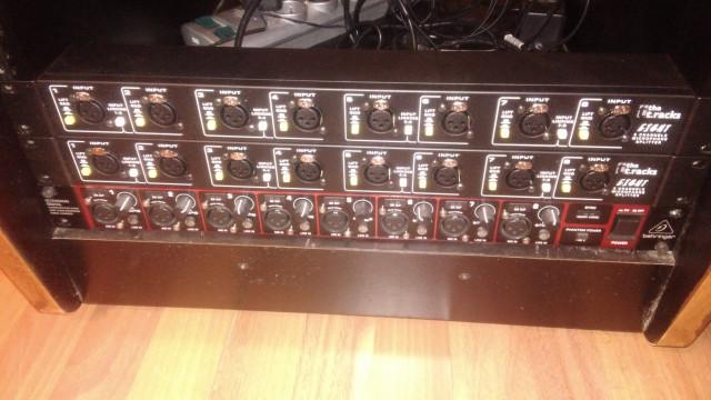 2 Splitters de micrófono Tracks, (8x16)