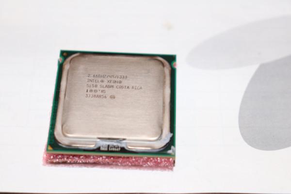 2 x INTEL XEON 5150 de 2,66GHZ Core Dúo original de Macpro 1,1 Woodcrest