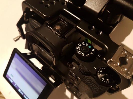 Camara Sony alpha a7s II