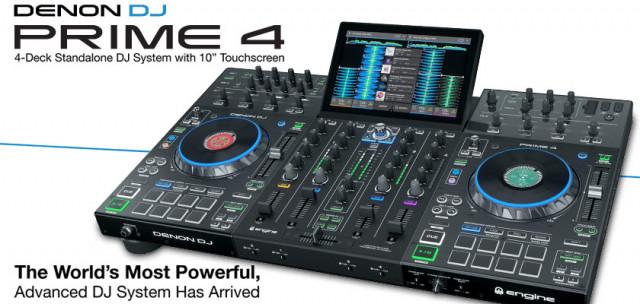 Controlador DJ Prime 4 All in One Precintado a Estrenar