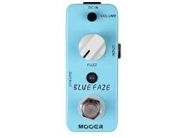 MOOER BLUE FACE,Pedal Fuzz, envió incluido
