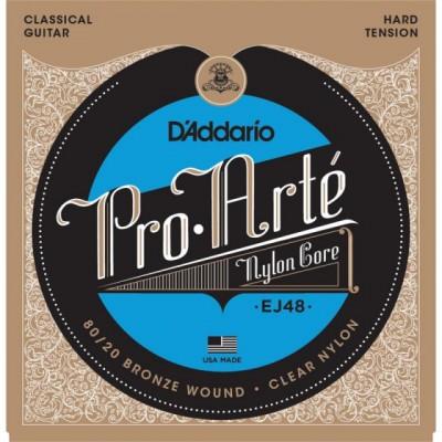 Cuerdas de Guitarra D'Addario EJ48 Pro Arte Gold