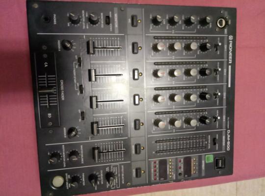 Mesa mezclas pioneer djm 500