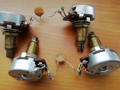 Potenciómetros de Gibson Les Paul