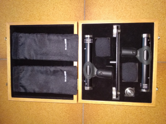 Pareja de microfonos M-Audio Pulsar II