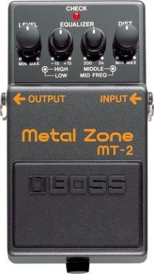 Pedal Boss Metal Zone MT-2