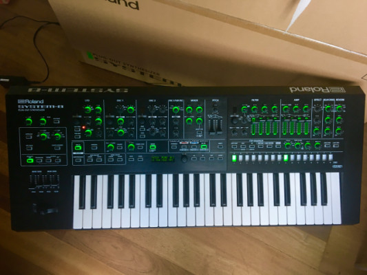 Roland System 8 (+ SH101 and System 100 Plugouts)