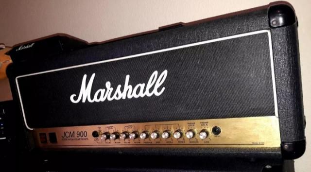 Marshall jcm 900 hi gain dual reberb
