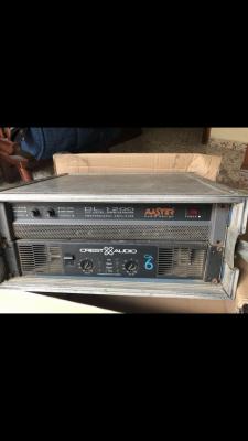 Vendo dos etapas de potencia Crest audio y Dl 1200