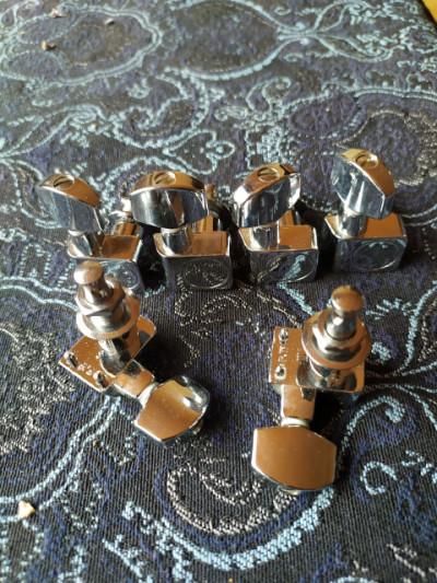 Clavijeros originales Fender MIM