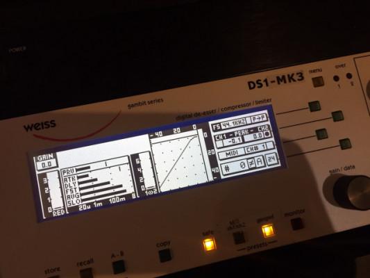 WEISS DS1 MK3 Mastering Compressor