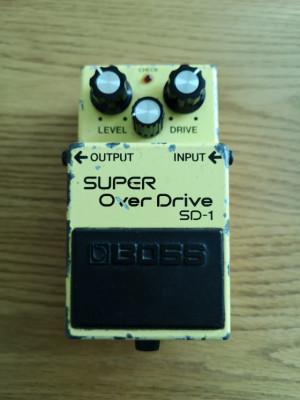Boss SD-1 Super OverDrive, SN 080931, Julio 1981